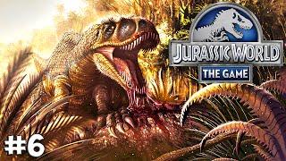 Jurassic World. Прохождение #6 (Gameplay iOS/Android)