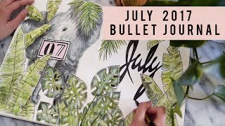PLAN WITH ME   JULY 2017 BULLET JOURNAL   ANN LE 📝