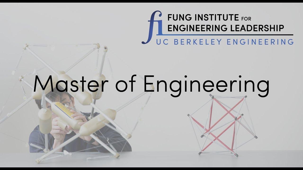 Uc Berkeley Master Of Engineering Program 1 Year Degree