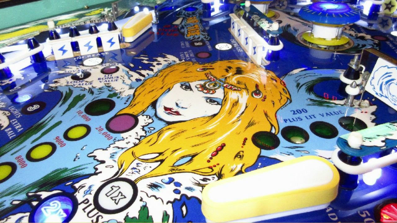 Image result for seawitch pinball