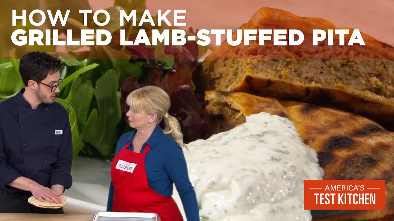 How to Make Grilled Lamb-Stuffed Pita