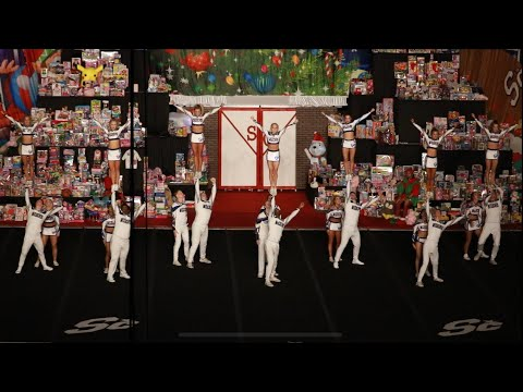 Cheer Athletics Wildcats Spirit Celebration Christmas Classic 2018 Day 1
