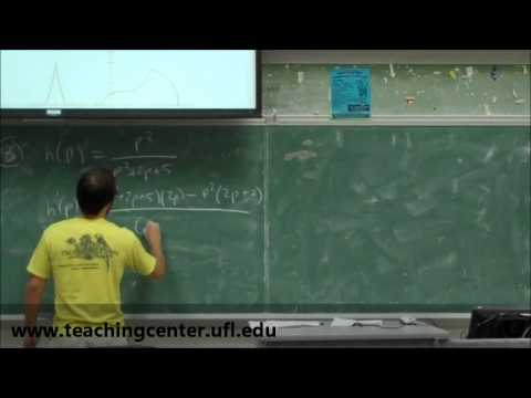 MAC 2233 Exam 3 Review