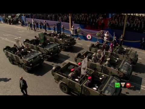 71a Festa della Repubblica - 2 Giugno 2017 - Parata Militare su Via dei Fori Imperiali - www.HTO.tv
