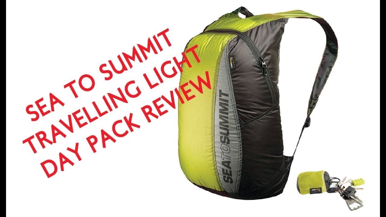 Sea To Summit Ultra-Sil Day Pack Review - YouTube 7a3a3f828