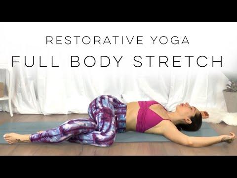20 Minute Restorative Yoga Full Body Stretch