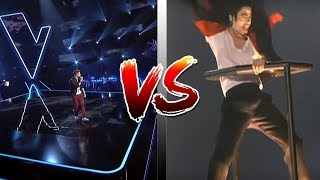 BOGDAN IOAN VS MICHAEL JACKSON | VOCEA ROMANIEI | VOICE COMPARISON | THE VOICE OF ROMANIA
