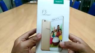 unboxing oppo f3