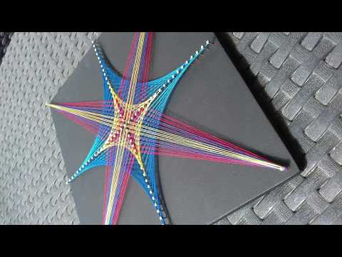 Stringart Star Tutorial   ART LINE