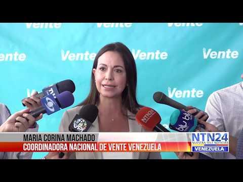 María Corina Machado respaldó el llamado de Guaidó a próximas movilizaciones