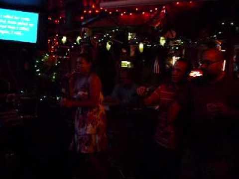 """""""Just a Friend"""" by Biz Markie performed by KB feat. Moe and Steven @ 7 Seas Karaoke, Miami"""