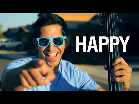 Happy - Pharrell Williams (string cover) - Simply Three
