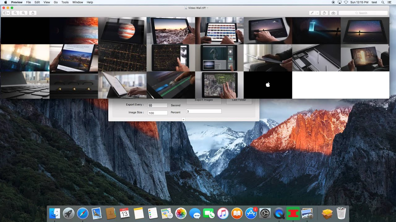 Video To Jpg Converter for Mac OSX