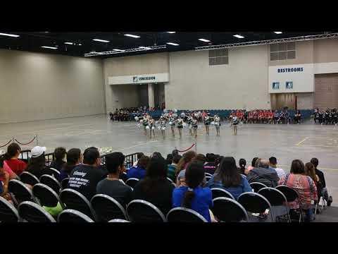 Alamo Middle School Badgerettes Team Pom at ShowTime International 2018