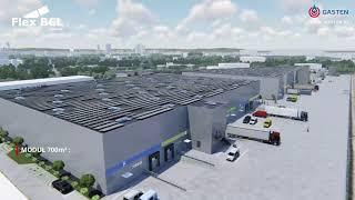 GASTEN S.A. | Prezentacja Centrum Logistycznego FLEX BCL GDAŃSK