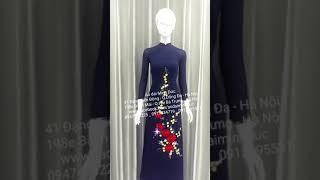Thời trang áo dài nữ sinh 2020