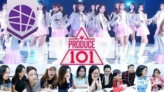 Filipinos React to Kpop #4 (PRODUCE 101 - Pick Me) | EL