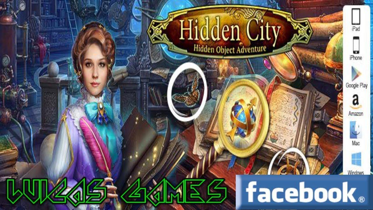 Hidden City Aventura De Objetos Ocultos Juego De Buscar Objetos Gratis Android Ios Pc Y Facebook Youtube