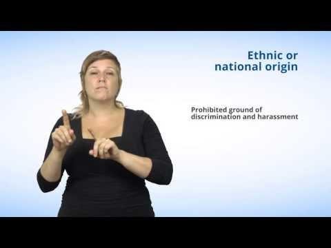 Ground #9  Ethnic or national origin
