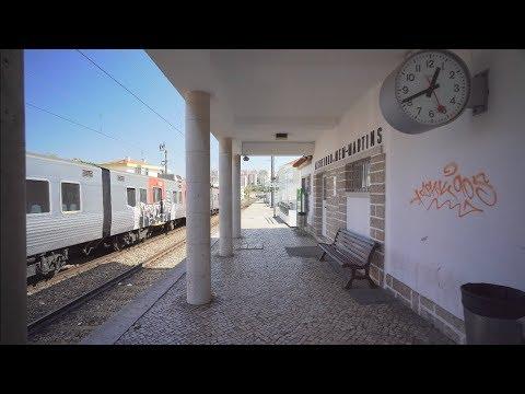 Portugal, Lisbon, Algueirão–Mem Martins railway station