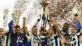 Juventus Champions of Italy 2013
