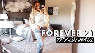 Fall Forever 21 Try-On Haul + DIY Baby Halloween Costume