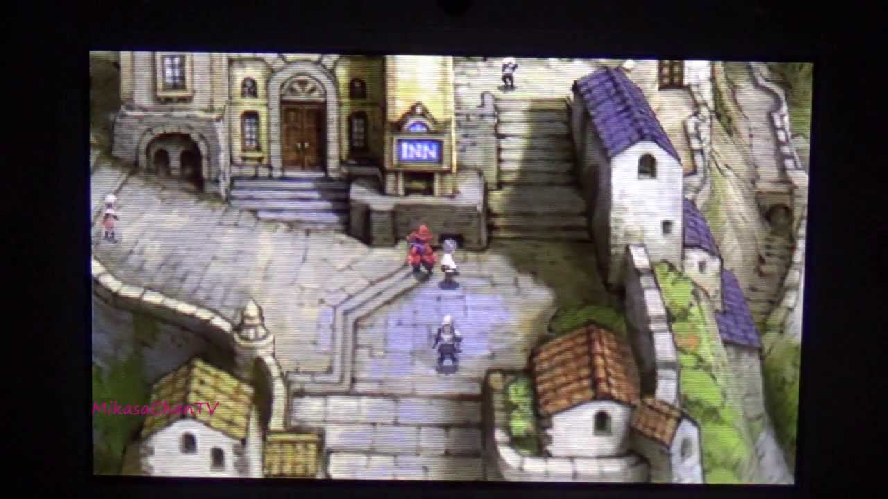 Bravely Default language switching? And English in JP titles
