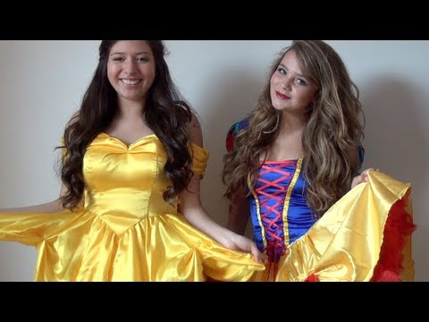 Parte 2) Tutorial Princesas de Disney - Bella y Blanca Nieves Ft ...