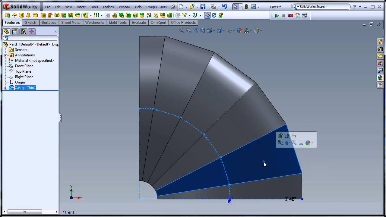 Two Flat Pattern Solutions To One Problem In Solidworks