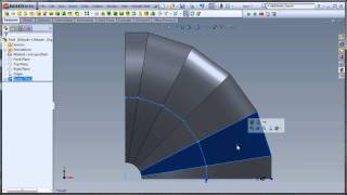two flat pattern solutions to one problem in solidworks cad