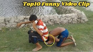Top10 Funny Video Clip ● Unlimited Fun And Comedy Compilation ● Try Not Laughing●By ALL Funny Fact