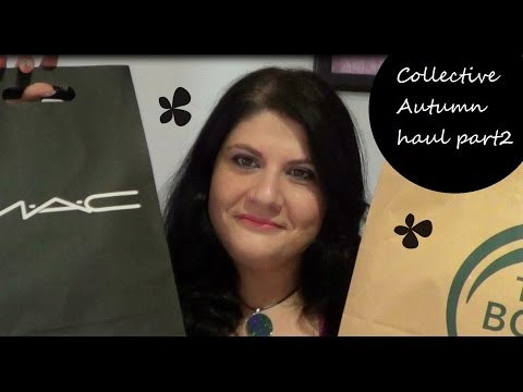 Collective Autumn Haul Part2 (Gr)| Catrice, KIKO, MAC, Body Shop, Laduree| Smugnificent