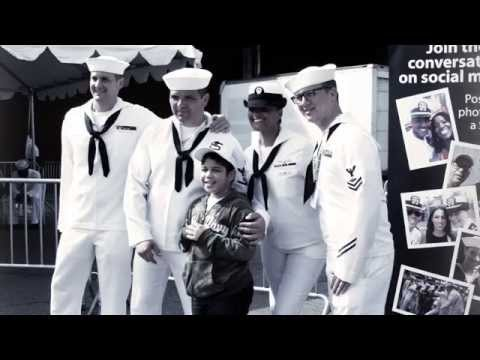 """Fleet week Tribute to Memorial Day """"I'm Proud to be an American"""""""