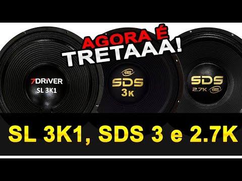 TRETA! 7Driver SL 3k1 VS Eros SDS 3k e 2.7 no RTA