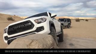 2017 TACOMA TRD PRO Ocotillo Wells Anza Borrego Thanks for watching...