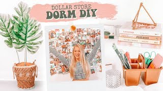 Dollar Store DIY Challenge DORM ROOM Decor Edition!