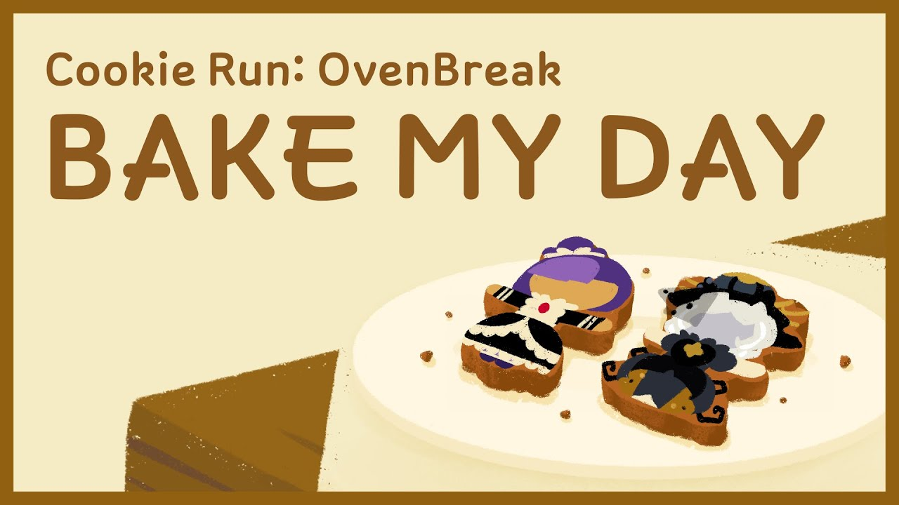 CookieRun Bake My Day - Blackberry Cookie & Truffle Cookie