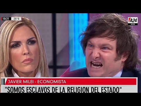 """""""Somos un país de imbéciles"""" Imperdible Javier Milei con Viviana Canosa- 01/03/21"""