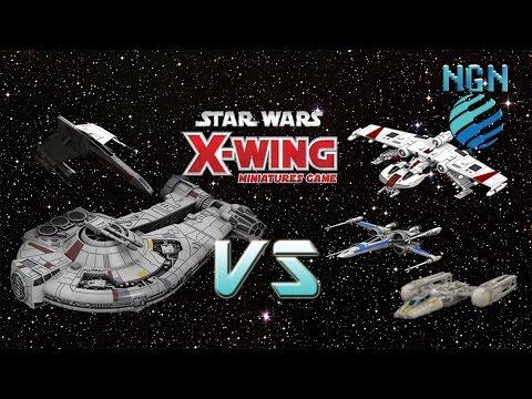X-Wing Game Night Kit - Dash / Horn vs X-Y-K