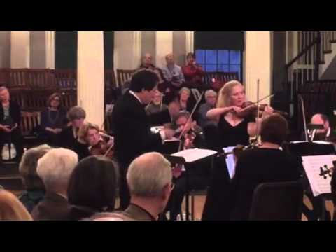 Pablo de Sarasate: finale of Zigeunerweisen played by violinist Stephanie Chase. Boston Classical O