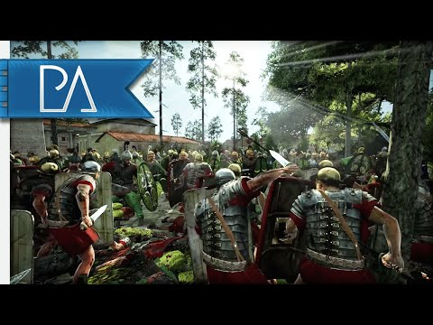 WHAT A CRAZY COMEBACK! GREAT SIEGE - 4v4 Siege Battle - Total War: Rome 2