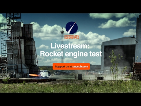 BPM5 Rocket Engine Tests - Feb 2017