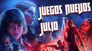 Videojuegos Nuevos Julio 2019