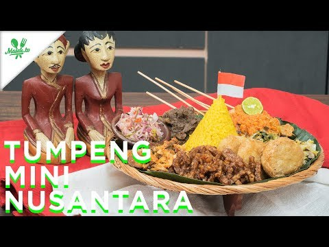 Resep Nasi Tumpeng Mini Nusantara