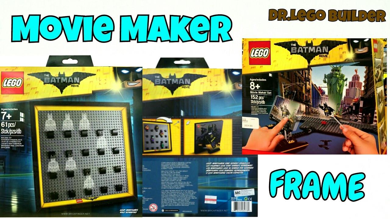 2017 Lego Batman Movie Movie Maker Set Minifigure Display