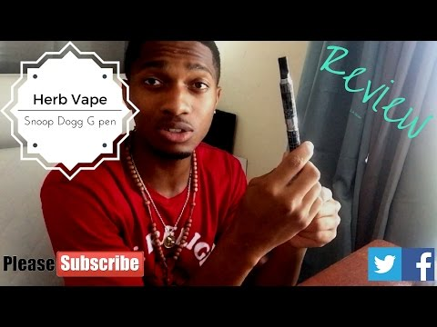 Snoop Dogg G pen Review