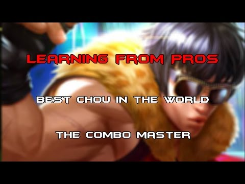 Mobile Legends - Learning from Pros - Best Chou in the World the Combo Master