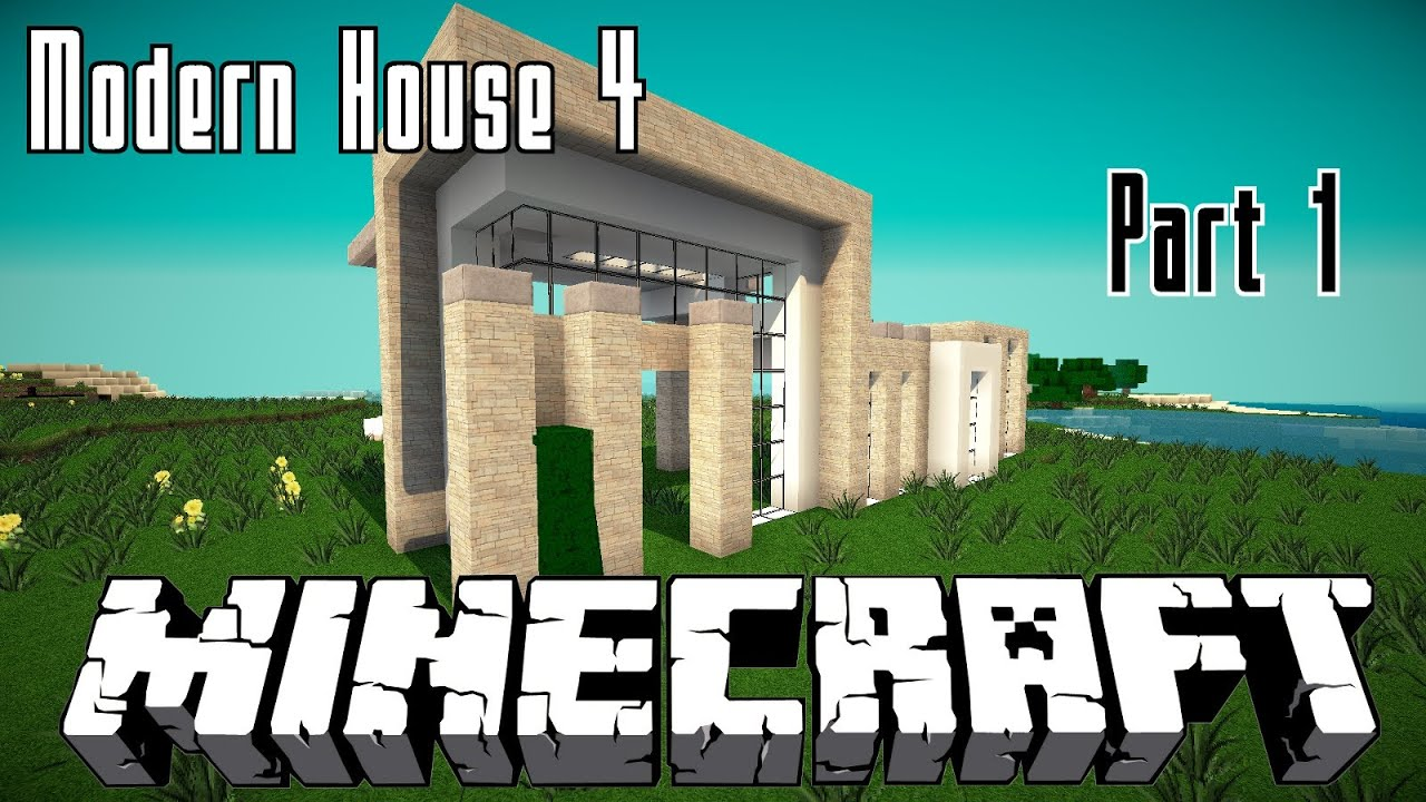 Minecraft modernes haus 4 bauen 001 hd youtube for Minecraft modernes haus youtube