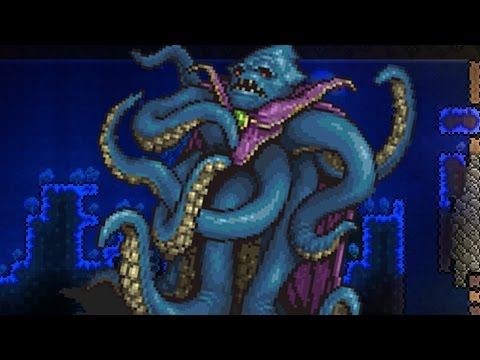 THE KRAKEN!! [Terraria: Epic Modpack - Episode 58 -]