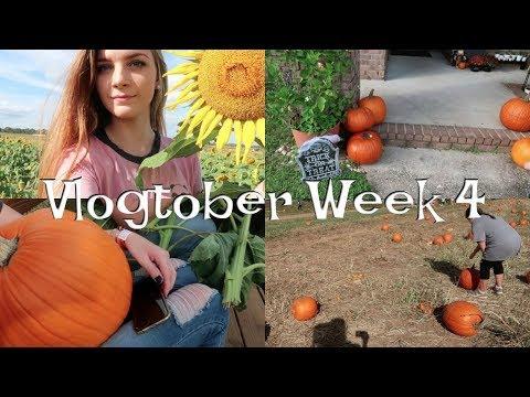 Pumpkin Patches, Football Games, & Halloween Decorating